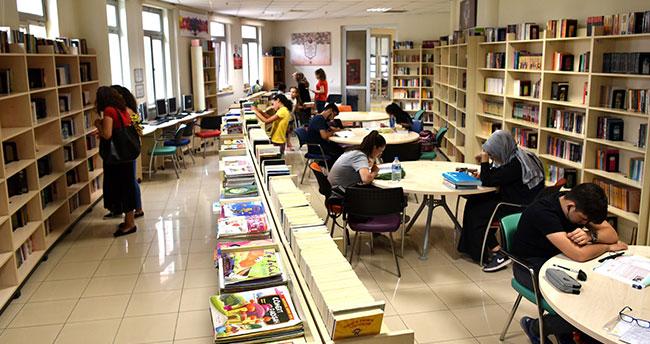 Selçuklu'da 58 kütüphane kitapseverlerin hizmetinde