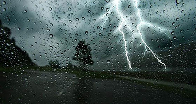 Konya'da sağanak yağışlara dikkat!