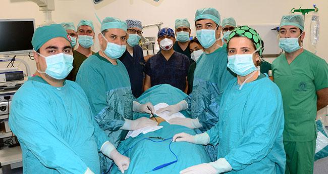 Yeni yerinde ilk ameliyat yapıldı
