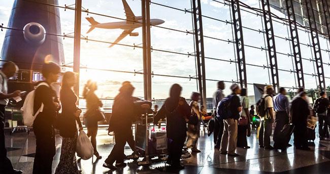 Türkiye'de seyahat edenler arttı