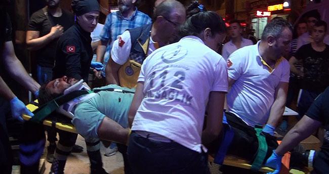 Konya'da silahlı bıçaklı kavga: 3 yaralı