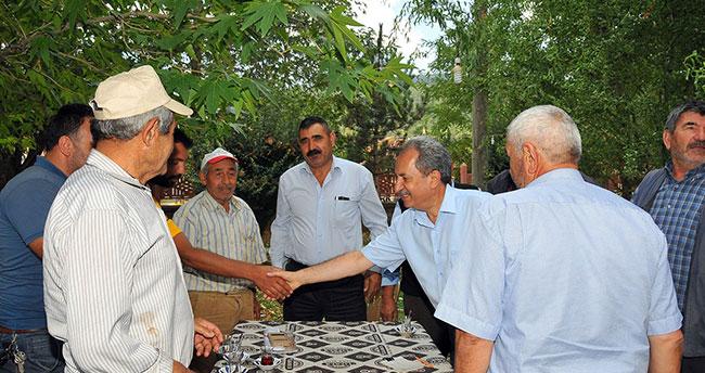 Başkan Akkaya mahalle buluşmalarını sürdürüyor