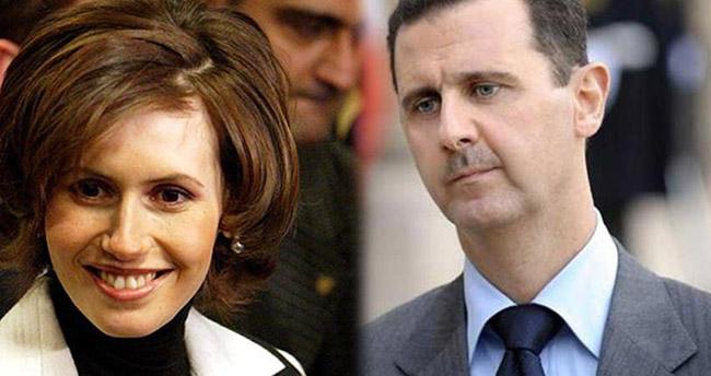 Beşar Esad'ın eşi kanser oldu