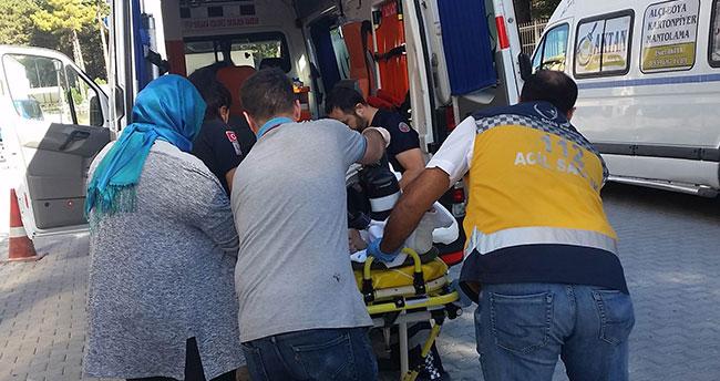 Gurbetçilerin otomobili takla attı: 2 ölü