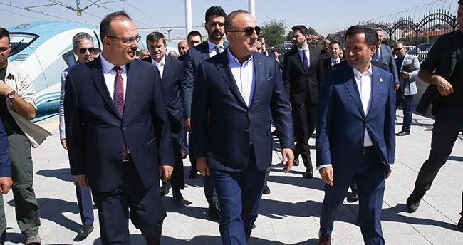 Dışişleri Bakanı Konya'da