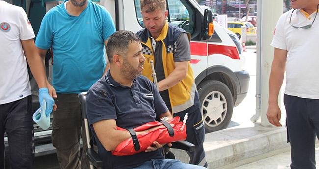 Konya'da acemi kasaplar iş başında