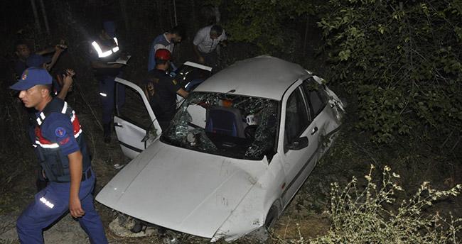 Konya'da motosikletle otomobil çarpıştı: 10 yaralı