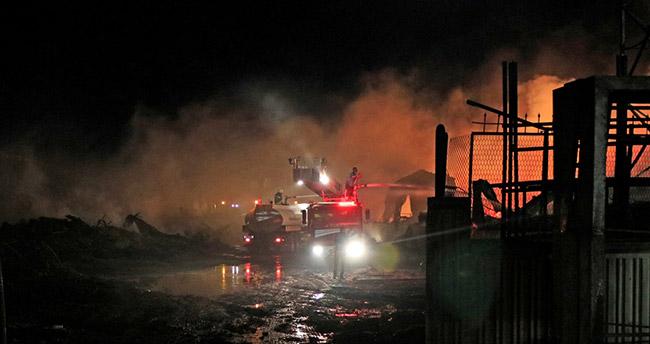 Konya'daki yangın söndürüldü