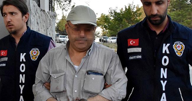 Konya'da sokak ortasında tabancalı, tornavidalı saldırı