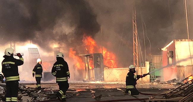 MAR-SAN'daki yangında güvenlik güvenlisi tutuklandı