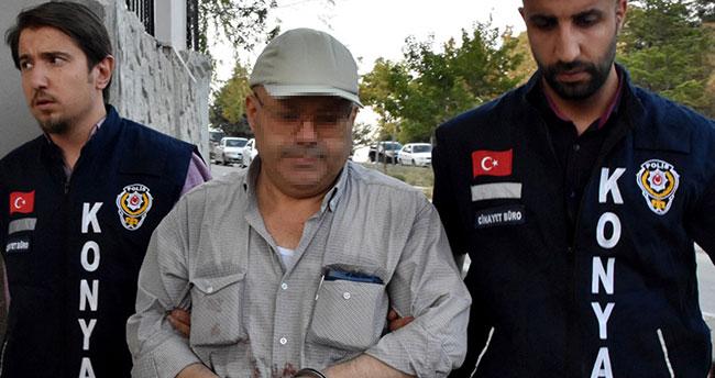 Konya'da tabanca ve tornavidalı saldırıda zanlı tutuklandı