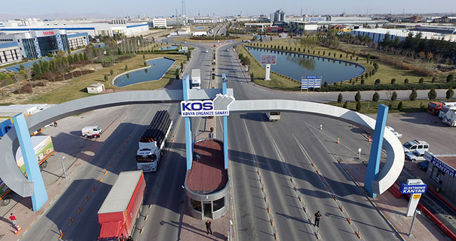 Konya'ın ihracatı arttı, ithalatı azaldı