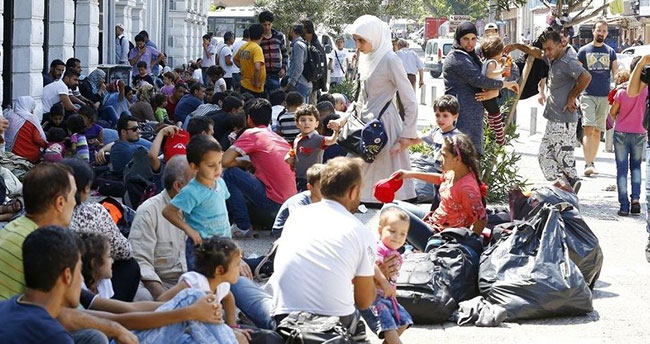 4 milyon Suriyeli sınırımıza dayanabilir