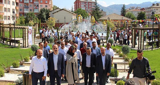 Selçuklu Belediyesi'nden Seydişehir'e yeni park!