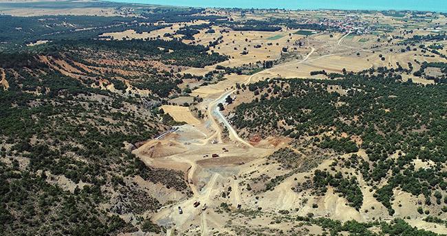 250 hektar tarım alanı suya kavuşuyor