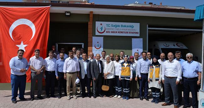 Konya'ya yeni 112 istasyonu