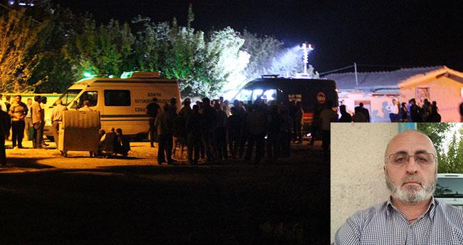 Konya'da yüzleri maskeli şahıslar karı kocayı öldürüp, kızlarını darp etti