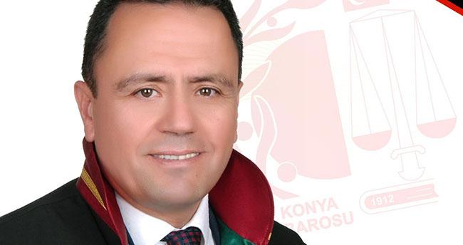 Konya Barosuna Av. Mustafa Aladağ yeniden aday