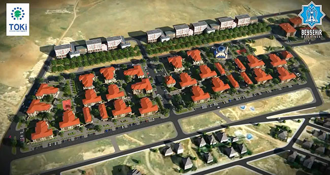 Beyşehir'de emeklilere yönelik TOKİ projesi hazır