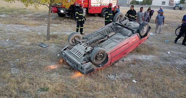 Aksaray-Konya yolunda kaza! 7 yaralı