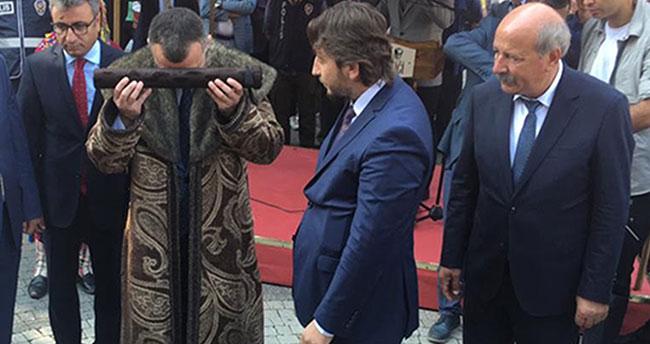 Konya'dan Gönderilen Sultan Alâeddin'in Berat ve Sancağı Söğüt'te Teslim Alındı