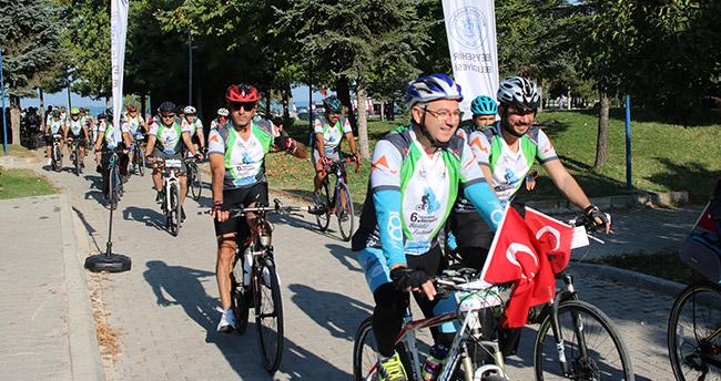 Beyşehir'de bisiklet festivali