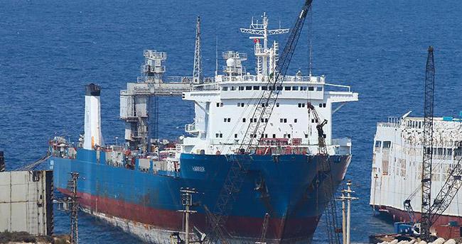 Denizi kirleten gemiye giriş ve çıkışlar yasaklandı