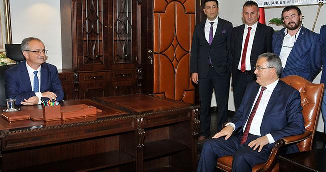 Konya Teknik Üniversitesi Rektörü göreve başladı