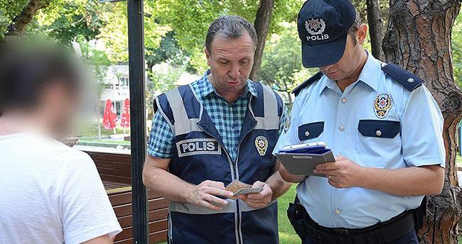 Aranan bin 367 şüpheli yakalandı