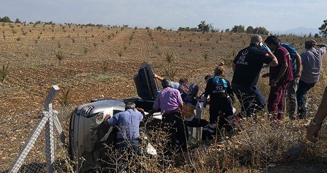 Beyşehir'de iki ayrı trafik kazasında 6 kişi yaralandı