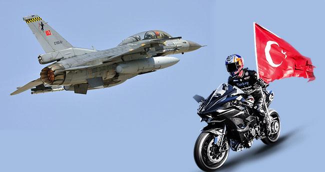 Kenan Sofuoğlu F-16 uçağına karşı yarışacak
