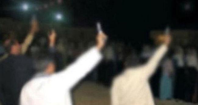 Konya'da düğünde silahla ateş açanlara ceza