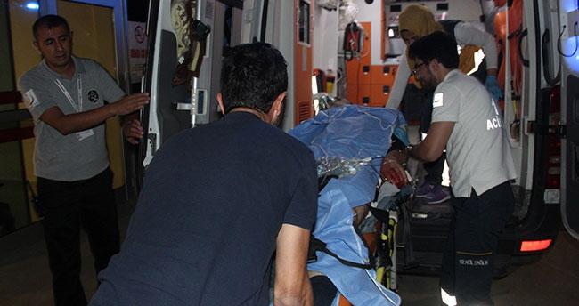 Konya'da bir kişi eşinin rahatsız eden market sahibini bıçakladı