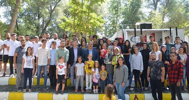 Ereğli Belediyesi gençleri piknikte buluşturdu