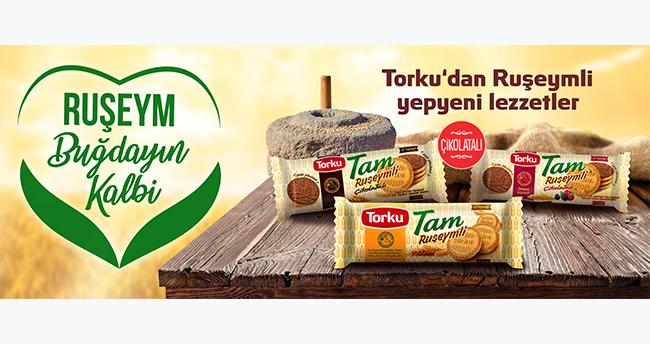 Torku'dan Türkiye'nin ilk Ruşeymli bisküvisi