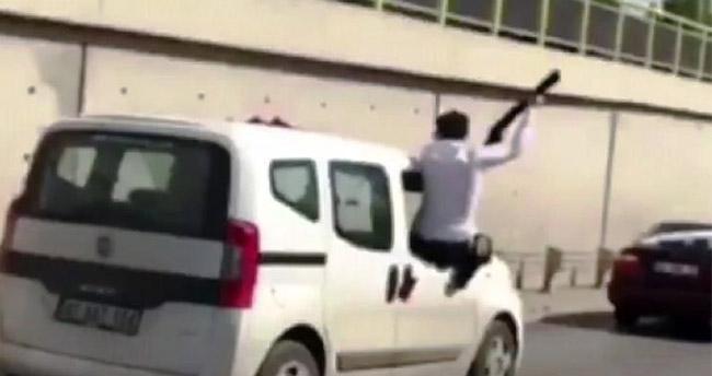 Konya'da düğün konvoyunda pompalı tüfekle ateş eden kişi serbest bırakıldı