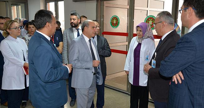 Beyhekim Devlet Hastanesinde genel değerlendirme toplantısı yapıldı