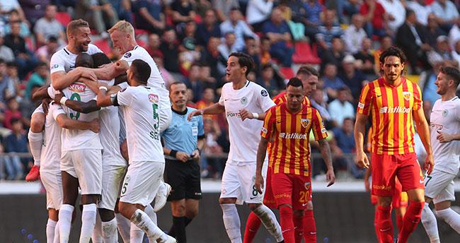 Kayserispor: 0 – Atiker Konyaspor: 2
