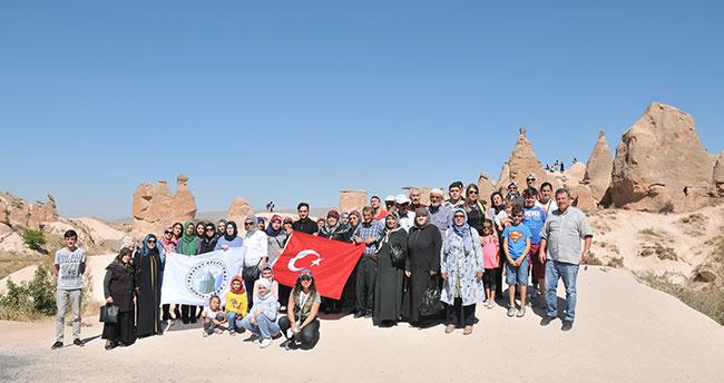 Karatay Belediyesi şehit ailelerini kapadokya'ya götürdü