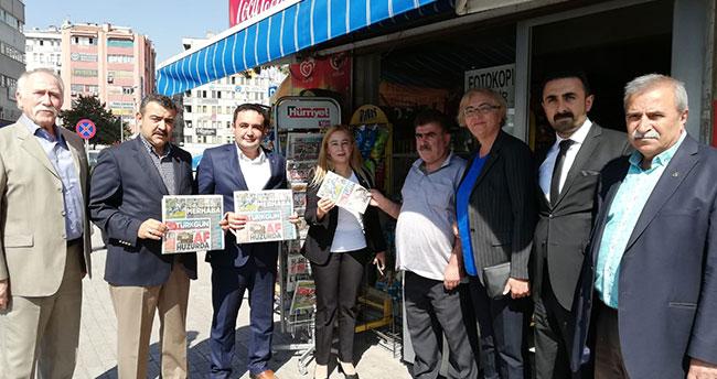 Konya MHP'den TÜRKGÜN'e destek
