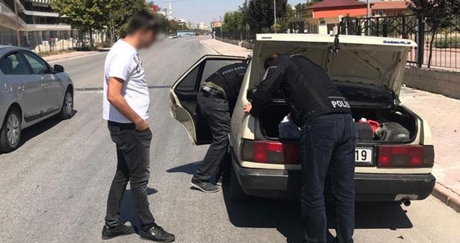 Polis ve jandarmadan eş zamanlı uygulama