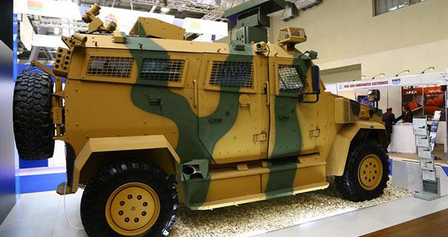 Türk zırhlısına duvar arkası radarı