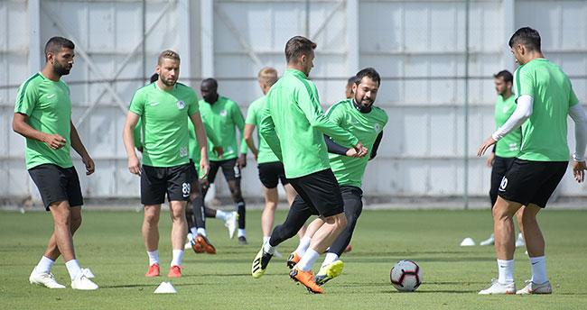 Atiker Konyaspor'da Göztepe maçı hazırlıkları