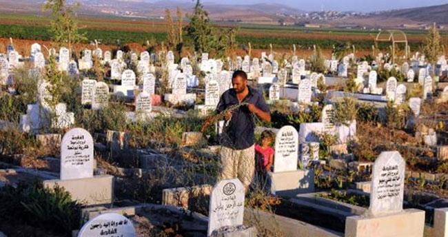 Mezarlıklarda Suriyeli göçmenler için ayrı bölüm