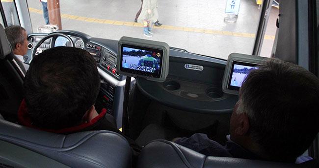 Otobüs koltuklarında kamu spotu