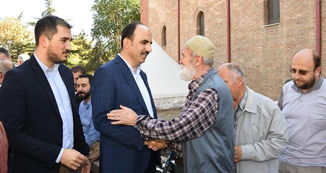Başkan Altay İplikçi Camii'nde Vatandaşlarla Buluştu