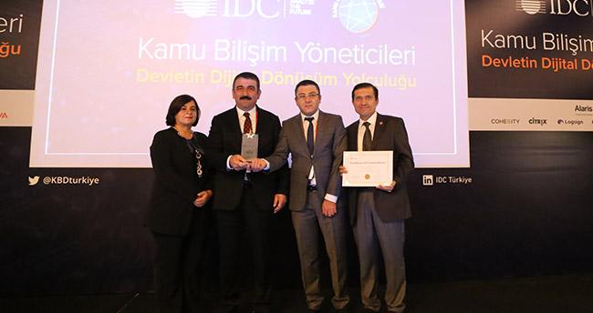 """IDC'den """"Yeni Nesil 112 Projesi""""ne ödül"""