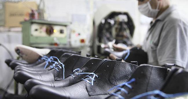 Ayakkabı sektöründen 'yarı kapasite'ye rağmen 164 ülkeye ihracat