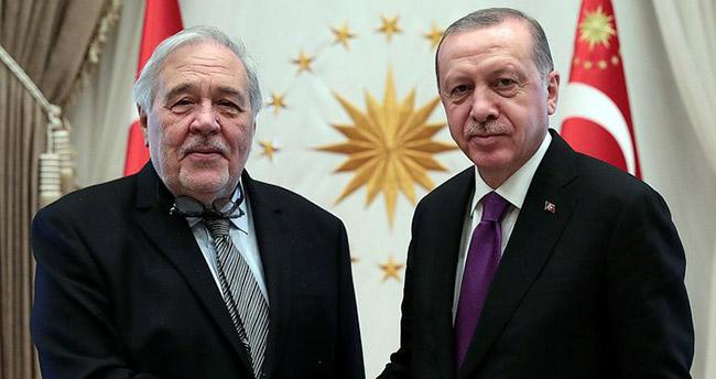Cumhurbaşkanı Erdoğan ile İlber Ortaylı görüştü