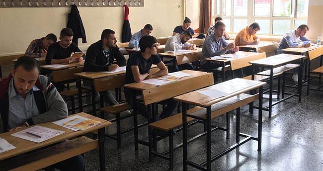 Konya'da mali müşavir adayları zorlu sınav öncesi prova yaptı